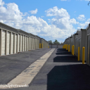 Hanes Storage Units have paved roads in Flagstaff AZ